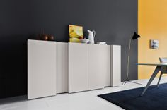 sistema modulare | madie | modello Spazio Volumi | Pianca design made in italy mobili furniture casa home giorno living notte night