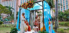 A destination wedding location that is easy to get to and your clients will have tons of things to do! - Atlantis Resort, Paradise Island.  They also specialize in Indian Weddings!
