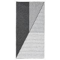 "Horredsmattan tæppe ""Stripe""  (70 x 140) (Grå)"
