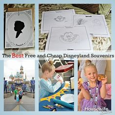 Housewife Eclectic: The Best Free or Cheap Disneyland Souvenirs