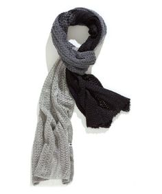 Look what I found on #zulily! Dark Gray & Stone Ombré Scarf by TIMEOUT #zulilyfinds