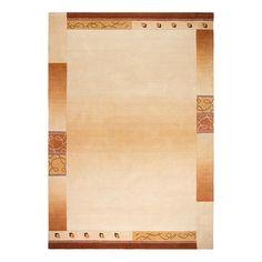 Teppich Super Q - Wolle/ Vanille - 120 cm x 180 cm, Luxor living