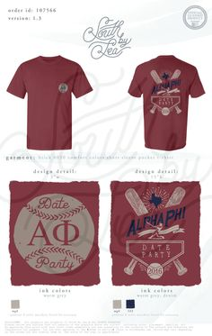 Alpha Phi | Date Party | Baseball Theme | Social Event | Texas State Design | South by Sea | Greek Tee Shirts | Greek Tank Tops | Custom Apparel Design | Custom Greek Apparel | Sorority Tee Shirts | Sorority Tanks | Sorority Shirt Designs