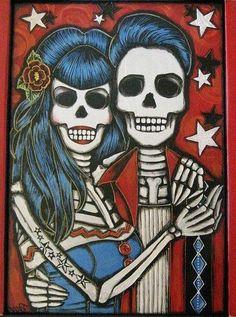 Rockabilly Dia de los Muertos
