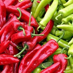 "It's our state question, ""Red or Green?""  Classic red and green chiles, a staple for all New Mexican food."