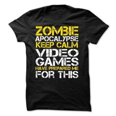 Zombie Apocalypse Gamers Keep Calm Funny T-shirt for ga - #sorority shirt #funny hoodie. SECURE CHECKOUT => https://www.sunfrog.com/Movies/Zombie-Apocalypse-Gamers-Keep-Calm-Funny-T-shirt-for-gamers.html?68278