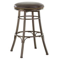 Have to have it. Steve Silver Bali 30 in. Backless Swivel Bar Stool - may match new booths