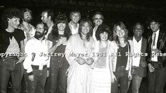Ozzy Osbourne's band, early 80's, with Rudy Sarzo and Randy Rhoads.  Sharon Osbourne is also in the pic.