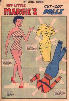 My Little Margie 44 (Charlton) - Comic Book Plus Comic Book Paper, Comic Book Plus, Comic Books, Old Comics, Vintage Comics, Vintage Paper Dolls, Vintage Art, Charlton Comics, Betty And Veronica