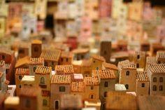 Orvieto Miniature Houses by Lomogirl, via Flickr