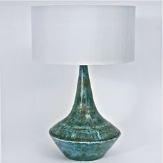 2 Potiers - Large ceramic lamp-stand