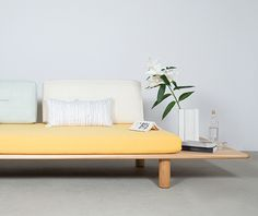 'Sushi' sofa by Joa Herrenknecht (DE) (my sister)