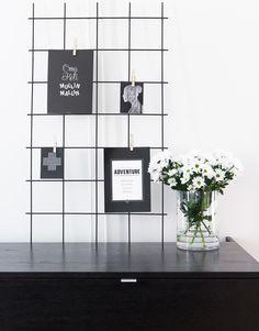 keittiö,Tee itse - DIY,muistitaulu,taulu,lasimaljakko
