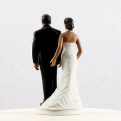 "african american wedding cake toppers | Pinch of Love"" Ethnic Cake Topper"