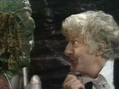 doctor who classic who third doctor john pertwee silly look
