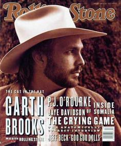 Garth Brooks.  I got two of these for xmas one year!!  Awesome