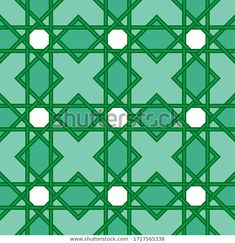 Find Seamless Green Islamic Pattern Great Wallpaper stock images in HD and millions of other royalty-free stock photos, illustrations and vectors in the Shutterstock collection.  Thousands of new, high-quality pictures added every day. Islamic, Vectors, Royalty Free Stock Photos, Illustrations, Wallpaper, Green, Pattern, Pictures, Image
