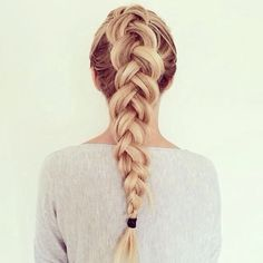 Tresse #hairstyle