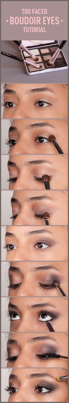 Too Faced Boudoir Eyes #TooFacedProm