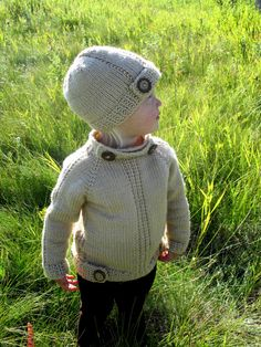 KNITTING PATTERN PDF sweater knit pattern by KnotEnufKnitting---I need someone to make this for me!