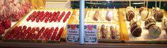 Afbeeldingsresultaat voor chocolade fruit kerstmarkt