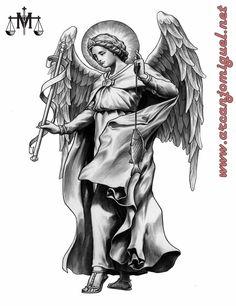 SÃO RAFAEL  ARCANJO - igreja - católicos - anjos - tattoo  desenho - tatuagem - Miguel - oração - novena   http://www.arcanjomiguel.net  https://novecoros.blogspot.com.br  Combatentes SMA - Arcanjomiguel-NET