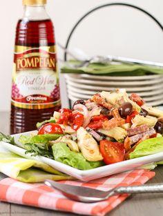 Antipasti Salad with Red Wine Vinaigrette