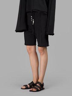 DAMIR DOMA DAMIR DOMA WOMEN'S BLACK SHORTS. #damirdoma #cloth #shorts
