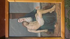 Guys, I've found an old painting and it  seems like it's from Ethienne Azambre, does anyone have an idea how much it's worth?