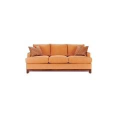 Bright Orange Sofa to Catch Guest's attention