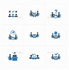Buy Job Interview Icons - Blue Version by Bismillah_bd on GraphicRiver. Job Interview Icons – Blue Version The pack contains: I Icon, Icon Set, Portfolio Website Design, Business Icon, Information Graphics, Social Media Icons, Artist At Work, Typography Design, Icon Design