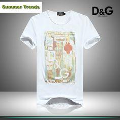 ralph lauren outlet uk Dolce & Gabbana Round Neck Short Sleeve Men's T-Shirt White http://www.poloshirtoutlet.us/