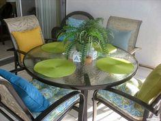 Apartment 508 Lanai #SiestaKey Siesta Key Beach, Lanai, Outdoor Furniture, Outdoor Decor, Dining Chairs, Patio, Table, Home Decor, Decoration Home