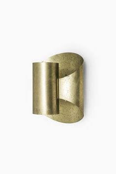 Set of 6 wall lamps in brass by Falkenbergs belysning AB at Studio Schalling