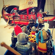 #battleship #playmobil #romans