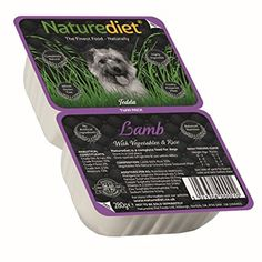 Naturediet Lamb with Vegetables and Rice Dog Food Pouch, 18 x 280 g - Twin Pack. Dog food. Dog training. Dog guide. Pet guide. Pet food. It's an Amazon affiliate link.