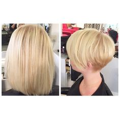 Long to Short MakeOver Short Wedge Hairstyles, Short Shaggy Haircuts, Mom Hairstyles, Cute Hairstyles For Short Hair, Short Hair Cuts, Shot Hair Styles, Curly Hair Styles, Before And After Haircut, Crop Hair