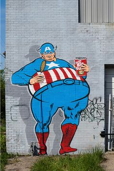 "The real Captain ""America"""