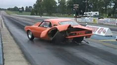 Not sure, but I think this Camaro's axle is now broken :(
