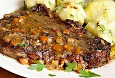 Meatloaf, Steak, Recipies, Food And Drink, Beef, Dinner, Cooking, Recipes, Meat