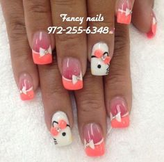 Cutest Hello Kitty Manicures! - Likes
