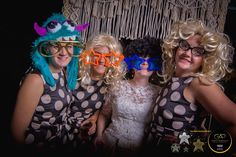 "Isaac  Gabby's {#Macrame } Photo Booth ""Possibly one of the craziest Photo Booths we have hosted outside !! It was one crazy amazing night. Macrame backdrop supplied by the newly wedded couples friend.""  { Feel free to share & TAG } Venue: Old House At Wood house Activity Centre"