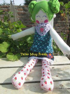 cloth doll handmade #softtoy #muñecadetrapo rag doll