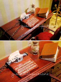handmade necklace typewriter    http://sainsgioie.blogspot.it  http://www.facebook.com/GioieLillipuziane