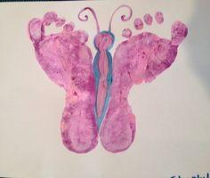Butterfly feet  www.macaronikid.com