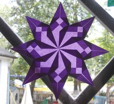 I've posted about window stars before , but a recent purchase of an Origami Suncatcher kit (which I found in-store) has gotten me on a...