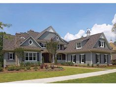 Eplans Craftsman House Plan - Traditional Feel, But Thoroughly Modern - 6622 Square Feet and 5 Bedrooms from Eplans - House Plan Code HWEPL13409
