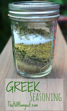 Greek Seasoning from Scratch