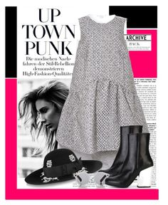 """""""uptownfunk"""" by julietacelina ❤ liked on Polyvore featuring Antonio Berardi, Yves Saint Laurent, McQ by Alexander McQueen and Illesteva"""