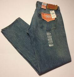 Details about New Levi's Men's 501 Original Fit Jeans Yellow String Size 32  Style # 005012145